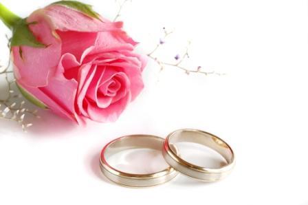 Поздравление с днем бракосочетания.